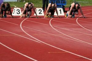 Start 100 m Sprint